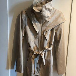 Soia & Kyo Arabella stretch cotton trench coat